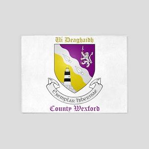 Ui Deaghaidh - County Wexford 5'x7'Area Rug