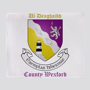 Ui Deaghaidh - County Wexford Throw Blanket