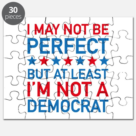 At Least I'm Not A Democrat Puzzle