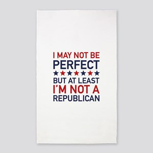 At Least I'm Not A Republican 3'x5' Area Rug
