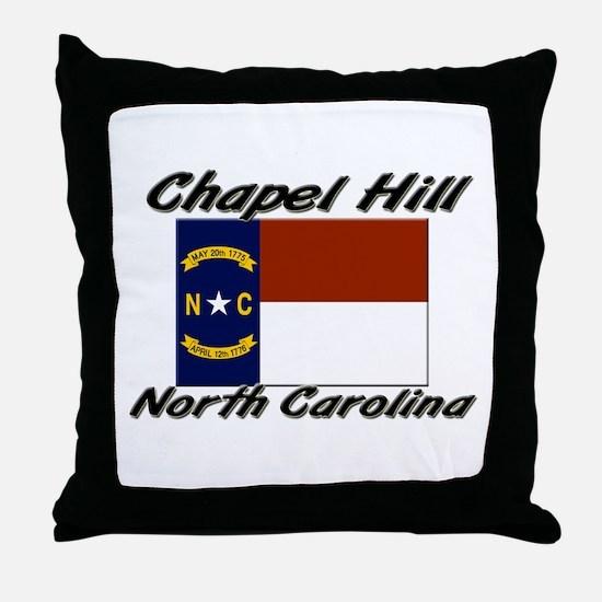 Chapel Hill North Carolina Throw Pillow