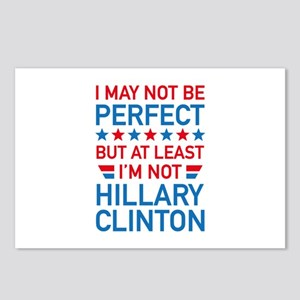 At Least I'm Not Hillary Postcards (Package of 8)