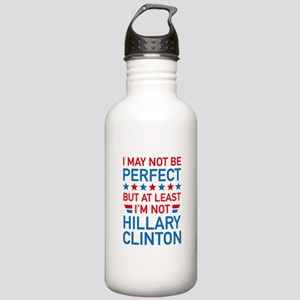 At Least I'm Not Hillary Stainless Water Bottle 1.