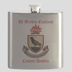 Ui Briuin Cualand - County Dublin Flask