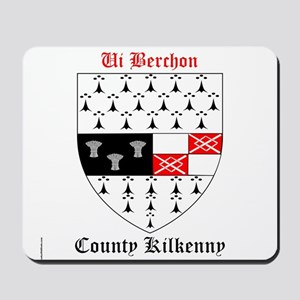 Ui Berchon - County Kilkenny Mousepad