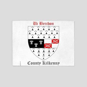 Ui Berchon - County Kilkenny 5'x7'Area Rug