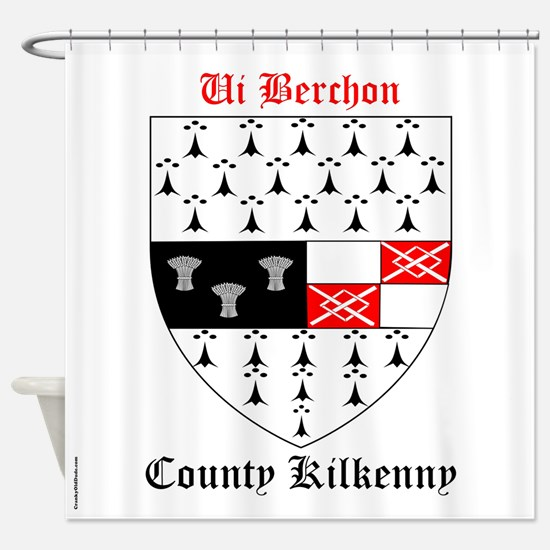 Ui Berchon - County Kilkenny Shower Curtain