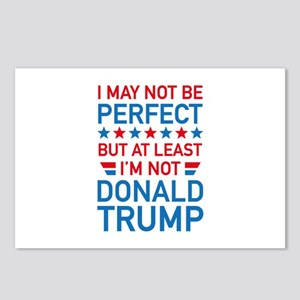 At Least I'm Not Donald Trump Postcards (Package o