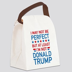 At Least I'm Not Donald Trump Canvas Lunch Bag