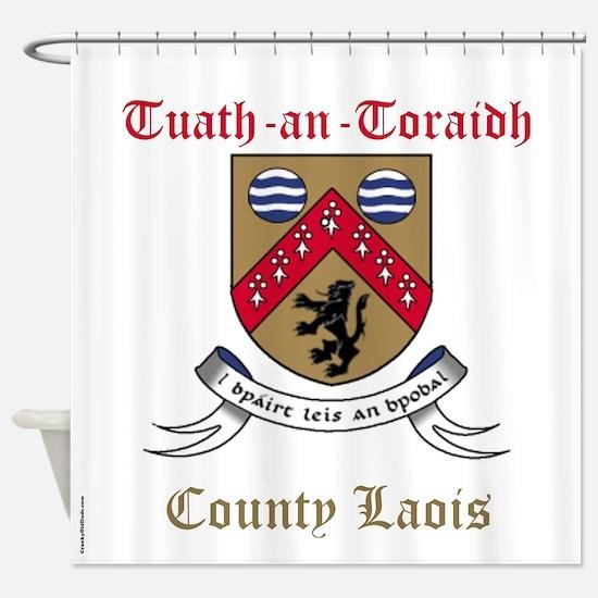 Tuath-an-Toraidh - County Laois Shower Curtain
