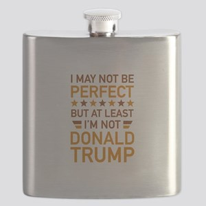 At Least I'm Not Donald Trump Flask