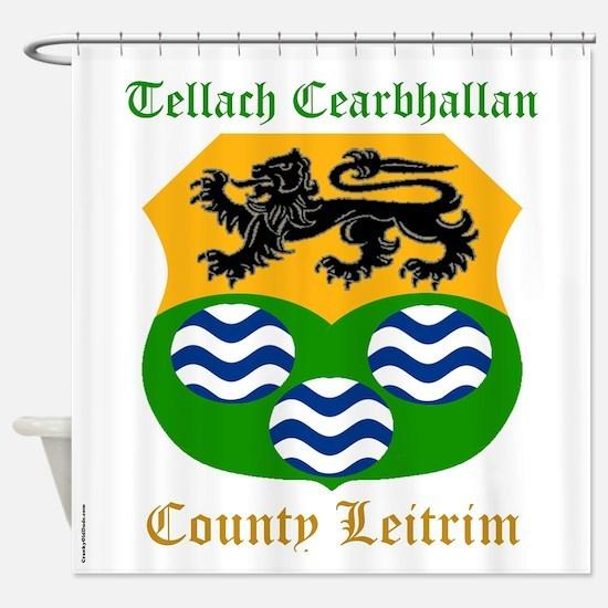 Tellach Cearbhallan - County Leitrim Shower Curtai