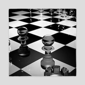 Chess Board Queen Duvet