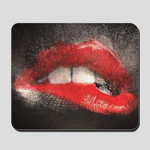 Sexy Lip Biting Mousepad