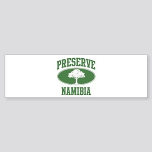 Preserve Namibia Bumper Sticker