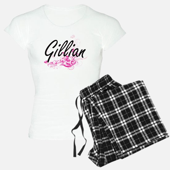 Gillian Artistic Name Desig Pajamas