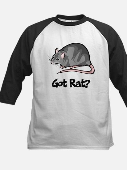 Got Rat? Kids Baseball Jersey
