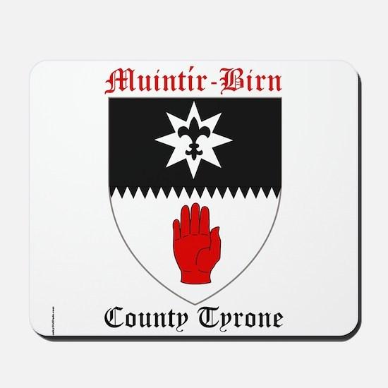 Muintir-Birn - County Tyrone Mousepad