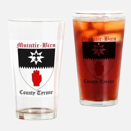 Muintir-Birn - County Tyrone Drinking Glass