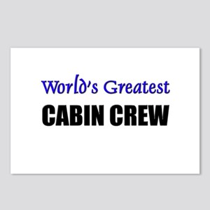 Worlds Greatest CABIN CREW Postcards (Package of 8