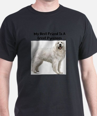 Funny Great pyrenees famous art T-Shirt