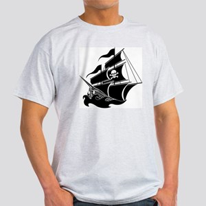 Pirate Ship Light T-Shirt