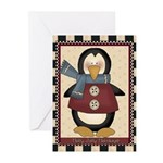 Sweater Penguin (pk Of 10) Greeting Cards