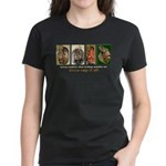 Primitive Inspired Graphics Women's Dark T-Shirt