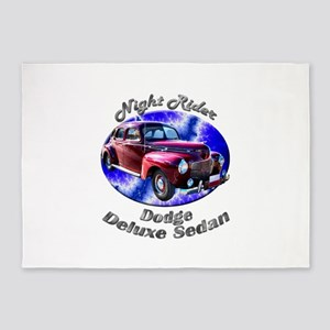 Dodge Deluxe Sedan 5`x7`Area Rug