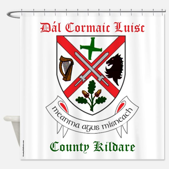 Dal Cormaic Luisc - County Kildare Shower Curtain