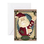 Santa Christmas Greeting Cards (Pk of 20)