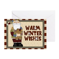 Warm Winter Wishes Greeting Cards (pk Of 10)