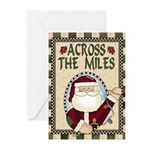 Across the Miles Christm Greeting Cards (Pk of 10)