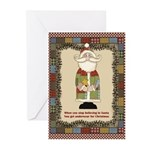 Underwear for Christmas Greeting Cards (Pk of 10)