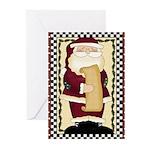 Santa List Greeting Cards (Pk of 10)