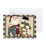 Noel Christmas Card Greeting Cards