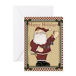 Holidays Santa Christmas Greeting Card