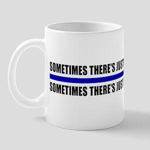 Justice Blue Line Mug