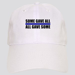 Some Gave All Blue Line Cap