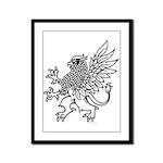 Griffin Framed Panel Print