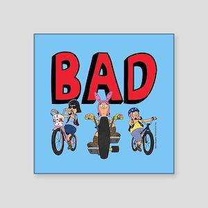 "Bob's Burgers Speak Easy Square Sticker 3"" x 3"""