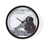 1929 Broadway Limited Wall Clock