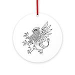 Griffin Round Ornament