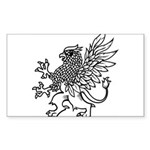 Griffin Sticker (Rectangle)
