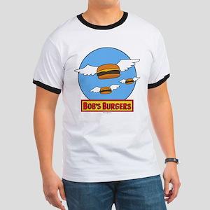 Bob's Burgers Flying Burgers Ringer T