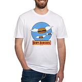 Bobsburgerstv Fitted Light T-Shirts