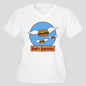 Bob's Burgers Fly Women's Plus Size V-Neck T-Shirt