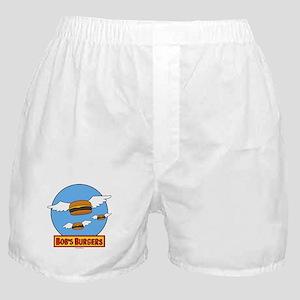 Bob's Burgers Flying Burgers Boxer Shorts