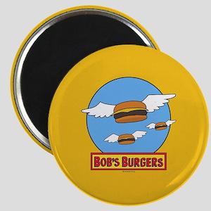 Bob's Burgers Flying Burgers Full Bleed Magnet
