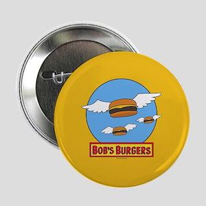 "Bob's Burgers Flying Burgers Full Ble 2.25"" Button"